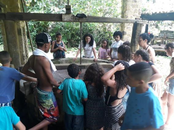 Farinhada no Quilombo da Fazenda