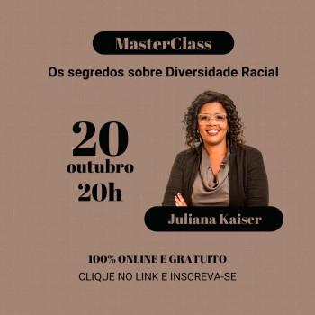 MASTERCLASS:  OS SEGREDOS DA DIVERSIDADE RACIAL