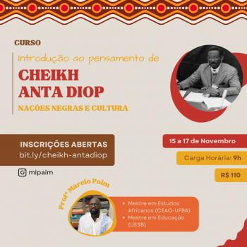 Introdução ao pensamento de Cheikh Anta Diop: Nações negras e cultura